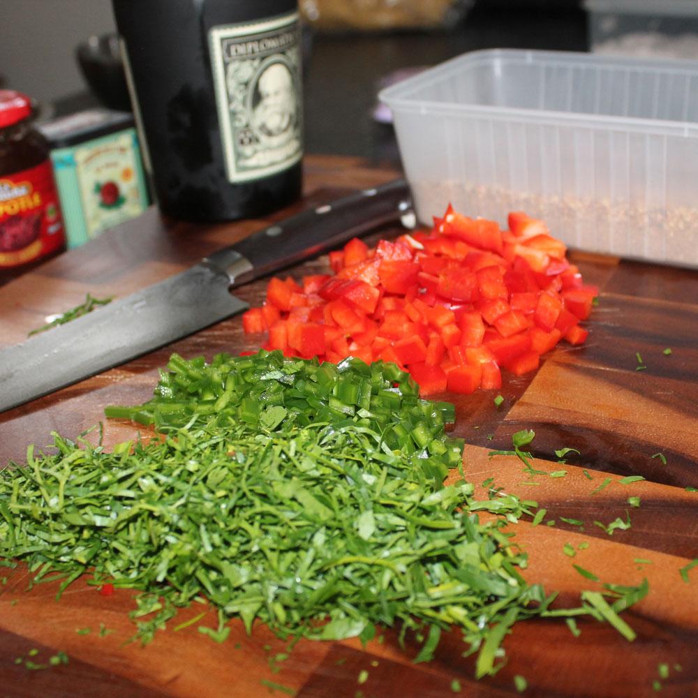 Sauasage ingredients